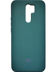 Чохол Silicone Case Xiaomi Redmi 9 (темно-зелений)