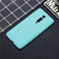 Чехол Silicone Case Lite Xiaomi Mi 9T / Mi 9T Pro (голубой)