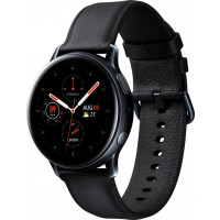 Смарт-часы Samsung SM-R820 Galaxy Watch Active 2 44mm Stainless steel (Black)