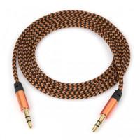 AUX кабель 3.5mm (золотой)