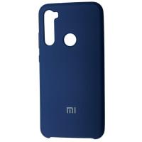 Чехол Silky Xiaomi Redmi Note 8 (темно-синий)