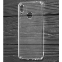 Чехол Molan Huawei P Smart + (прозрачный+блеск)