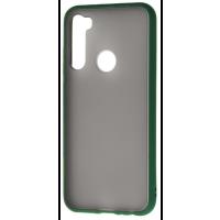 Чехол LikGus Maxshield матовый Xiaomi Redmi Note 8T (зеленый)