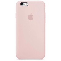 Чехол Silicone Case iPhone 6/6s (пудра)