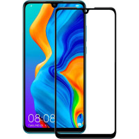 Стекло Huawei P30 5d 0.33mm (Black)