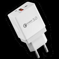 Сетевое зарядное устройство INAVI (FCH-031) 3.0 (белый)