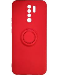 Чохол Ring Color Xiaomi Redmi 9 (червоний)