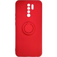 Чехол Ring Color Xiaomi Redmi 9 (красный)
