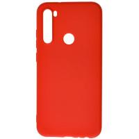 Чехол Silicone Case Lite Xiaomi Redmi Note 8T (красный)