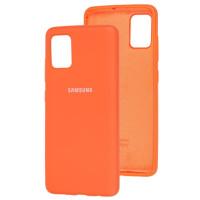 Чехол Silicone Case Samsung Galaxy A31 (оранжевый)