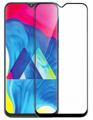 Защитная нано-пленка Silicon Glass Samsung Galaxy M10 (5D Black)