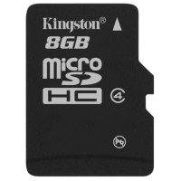Карта памяти Kingston micro SD 8gb (4cl)