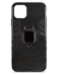 Чохол Armor + підставка iPhone 11 (чорний)