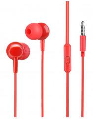 Вакуумні навушники-гарнітура Hoco M14 (Red)