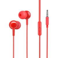 Вакуумные наушники-гарнитура Hoco M14 (Red)