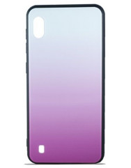 Чехол Glass Case Gradient Samsung Galaxy A10 (Light Pink)
