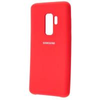 Чехол Silky Samsung Galaxy S9+ (красный)