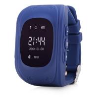 Детские GPS-часы Q50 OLED (Dark blue)
