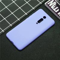 Чехол Silicone Case Lite Xiaomi Mi 9T / Mi 9T Pro (лавандовый)