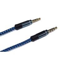 AUX кабель 3.5mm (синий)