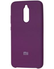 Чехол Silky Xiaomi Redmi 8 (сиреневый)