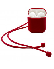 Чехол для AirPods XO Colors (красный)