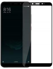 Стекло Xiaomi Mi A2/6x (5D Black) 0.33mm