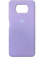 Чохол Silicone Case Xiaomi Poco X3 / Poco X3 Pro (лавандовий)