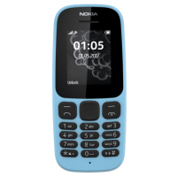 Nokia 105 Single Sim (Blue) TA-1010