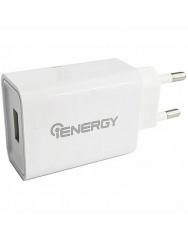 Сетевое зарядное устройство iENERGY 2.1A (белый) + кабель Type-C