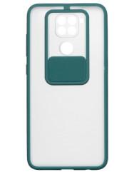 Чохол Totu Curtain Xiaomi Redmi Note 9 (зелений)