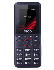 Ergo F188 Play Dual Sim (Black)