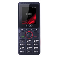 Ergo F188 Play Dual Sim (Black)