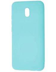 Чохол Silicone Case Lite Xiaomi Redmi 8a (блакитний)