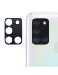 Захисне скло на камеру Samsung Galaxy A21s (Black) 0.18mm
