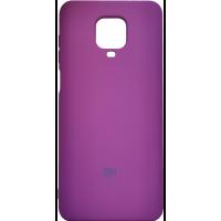 Чехол Silicone Case Xiaomi Redmi Note 9s/9 Pro (сиреневый)