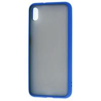 Чехол LikGus Maxshield матовый Xiaomi Redmi 7a (темно-синий)