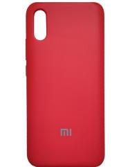 Чехол Silky Xiaomi Redmi 9a (красный)