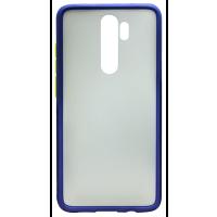 Чехол LikGus Maxshield матовый Xiaomi Redmi Note 8 Pro (темно-синий)