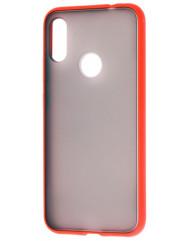 Чехол LikGus Maxshield матовый Xiaomi Redmi 7 (красный)
