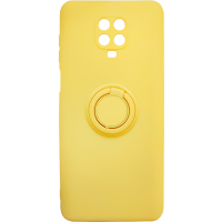 Чехол Ring Color Xiaomi Redmi Note 9s/9 Pro (желтый)