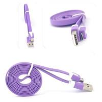 Кабель USB X38 (фиолетовый) 1м