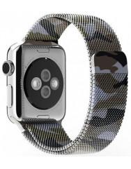 Ремінець Milanese для Apple Watch 38/40mm (камуфляж)