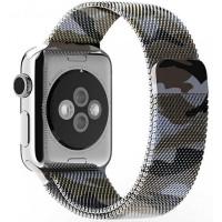 Ремешок Milanese для Apple Watch 38/40mm (камуфляж)