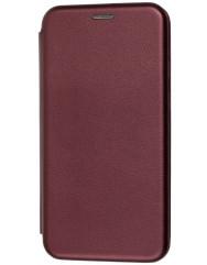 Книга Premium Samsung Galaxy M21/M30s (бордовый)