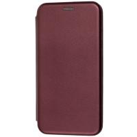 Книга Premium Samsung Galaxy M30s (бордовый)