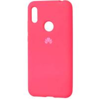 Чехол Silicone Case Huawei Y6-19 (ярко-розовый)