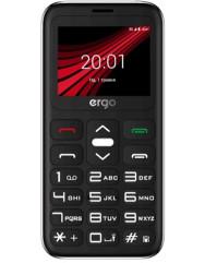 Ergo F186 Solace Dual Sim (Silver)