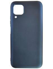 Чохол Silicone Case Lite для Huawei P40 Lite (темно-синій)