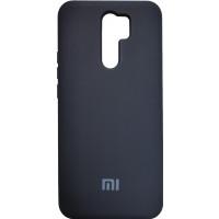 Чехол Silicone Case Xiaomi Redmi 9 (черный)